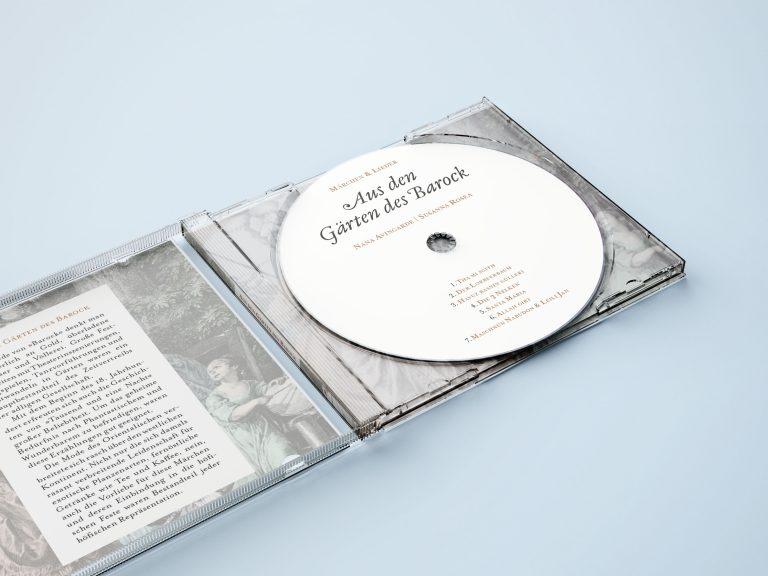 Aus den Gärten des Barock - CD - Nahansicht