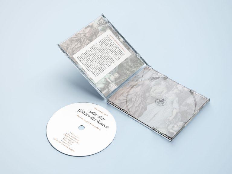 Aus den Gärten des Barock - CD - Produktfoto